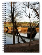 Alongside The Uhlerstown Frenchtown Bridge Spiral Notebook