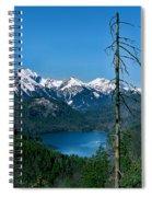Alp See Lake In Bavaria Germany Spiral Notebook