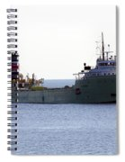 Alpena Ship Spiral Notebook