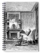 Alphonse De Lamartine Spiral Notebook