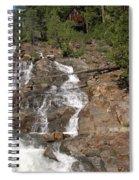 Alpine Creek Falls Lake Tahoe Spiral Notebook