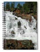Alpine Falls Glen Alpine Falls Lake Tahoe Spiral Notebook