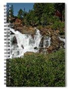 Alpine Falls Lake Tahoe II Spiral Notebook