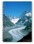 Alpine Glacier Spiral Notebook
