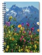 Alpine Wildflowers Spiral Notebook