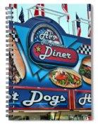 Al's All American Diner Spiral Notebook