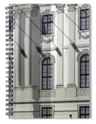 Alte Bibliothek Spiral Notebook