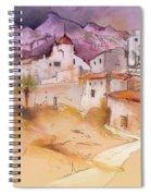 Altea La Vieja In Spain 11 Spiral Notebook