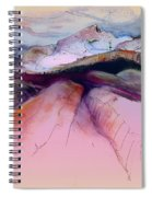 Altea La Vieja In Spain 17 Spiral Notebook
