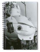 Alvin, Deep Sea Ocean Research Vessel Spiral Notebook