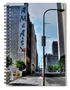 Am And As Downtown Buffalo Spiral Notebook