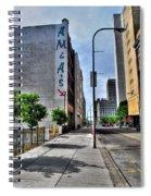 Am And As Downtown Buffalo Vert Spiral Notebook