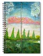 Amazing Gaze Spiral Notebook