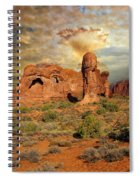 Amber Arches Spiral Notebook