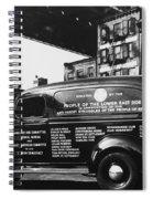 Ambulance, Late 1930s, Nyc Spiral Notebook