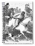 America: Fox Hunt Spiral Notebook