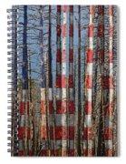 America Still Beautiful Spiral Notebook