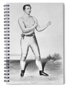 American Boxer, 1860 Spiral Notebook