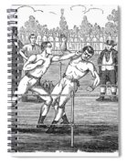 American Boxing, 1859 Spiral Notebook