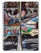 American Carousel Horse Spiral Notebook