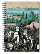 American Civil War, Battle Of Baton Spiral Notebook