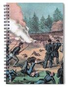 American Civil War, Battle Of Cold Spiral Notebook