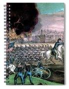 American Civil War, Capture Of Atlanta Spiral Notebook