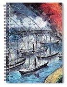 American Civil War, Farraguts Fleet Spiral Notebook