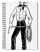 American Cowboy Spiral Notebook