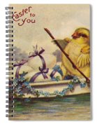 American Easter Card Spiral Notebook