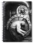 American Industry, 1920 Spiral Notebook