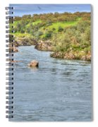 American River II Spiral Notebook