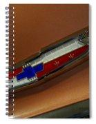 Chevrolet Hood Emblem Spiral Notebook