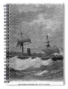 American Steamship, 1870 Spiral Notebook