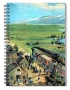 American Transcontinental Railroad Spiral Notebook