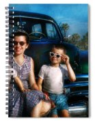 Americana - Car - The Classic American Vacation Spiral Notebook