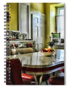 Americana - 1950 Kitchen - 1950s - Retro Kitchen Spiral Notebook