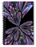 Amethyst Affair Spiral Notebook