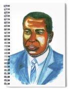 Amilcar Cabral Lopes Spiral Notebook