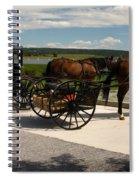 Amish Buggies Spiral Notebook