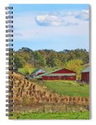 Amish Cornfield Spiral Notebook