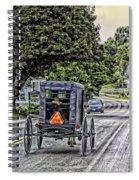 Amish Girl Spiral Notebook