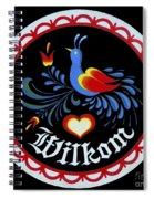 Amish Hex Design Spiral Notebook