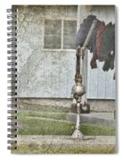 Amish Pump And Cup Spiral Notebook