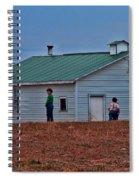 Amish School Spiral Notebook