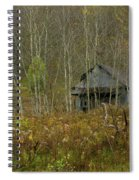 Among The Birches 0020 Spiral Notebook