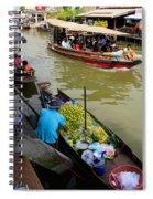 Ampawa Floating Market Spiral Notebook