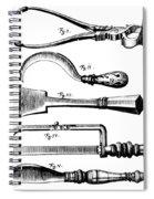 Amputation Instruments, 1772 Spiral Notebook