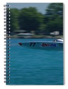Amsoil Offshore Racer Spiral Notebook