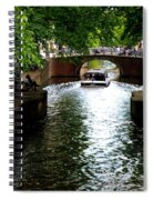 Amsterdam By Boat Spiral Notebook